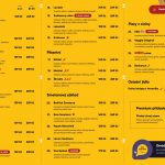 Pizza Vosime Ostrava Menu 1